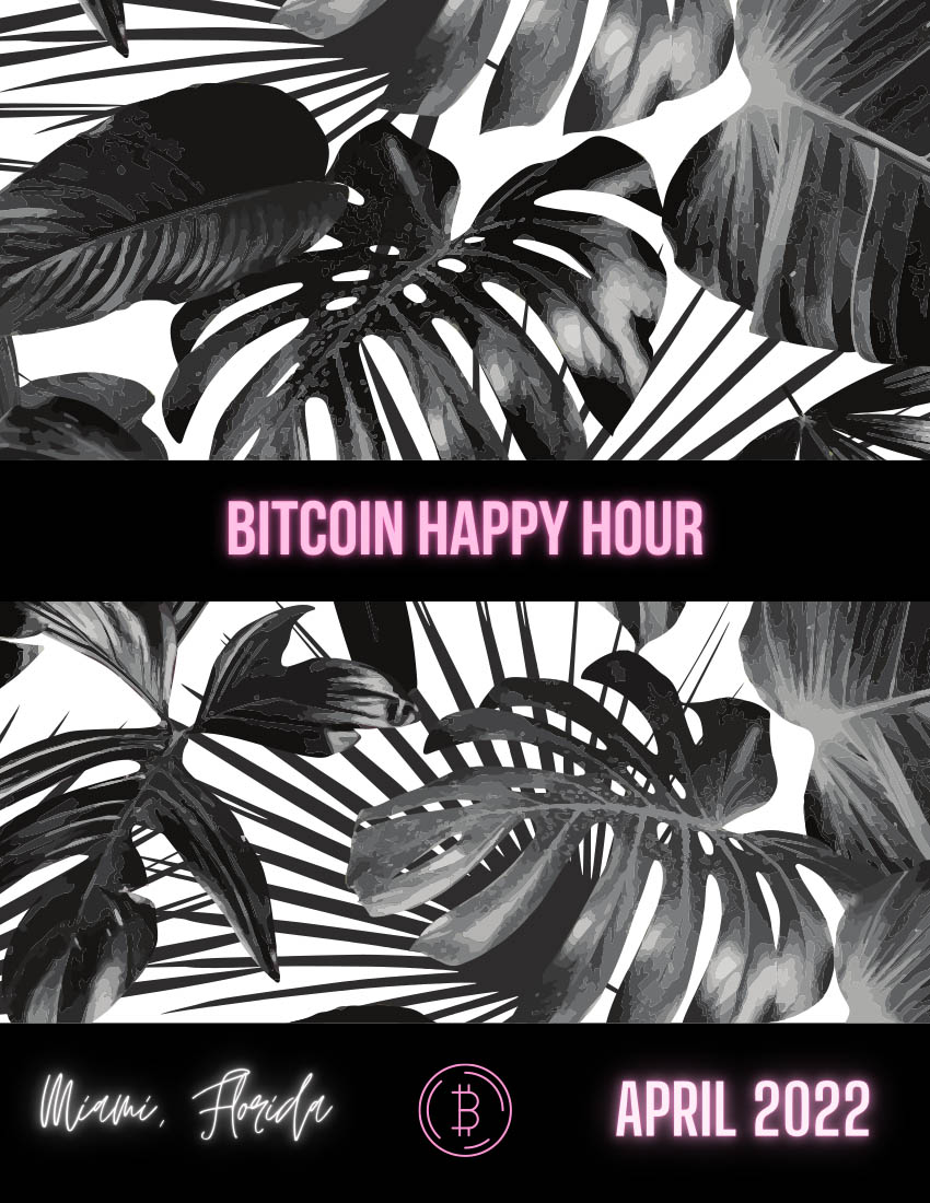 page 1 of the btc happy hour 2022 deck